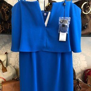BCBG MAXAZRIA Blue Strapless Style#LMQ68A67-4L8